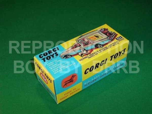 Corgi #486 Kennel Service Wagon - Reproduction Box